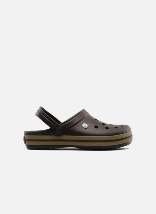 Sandales et nu-pieds Crocs Crocband M Marron vue derrière