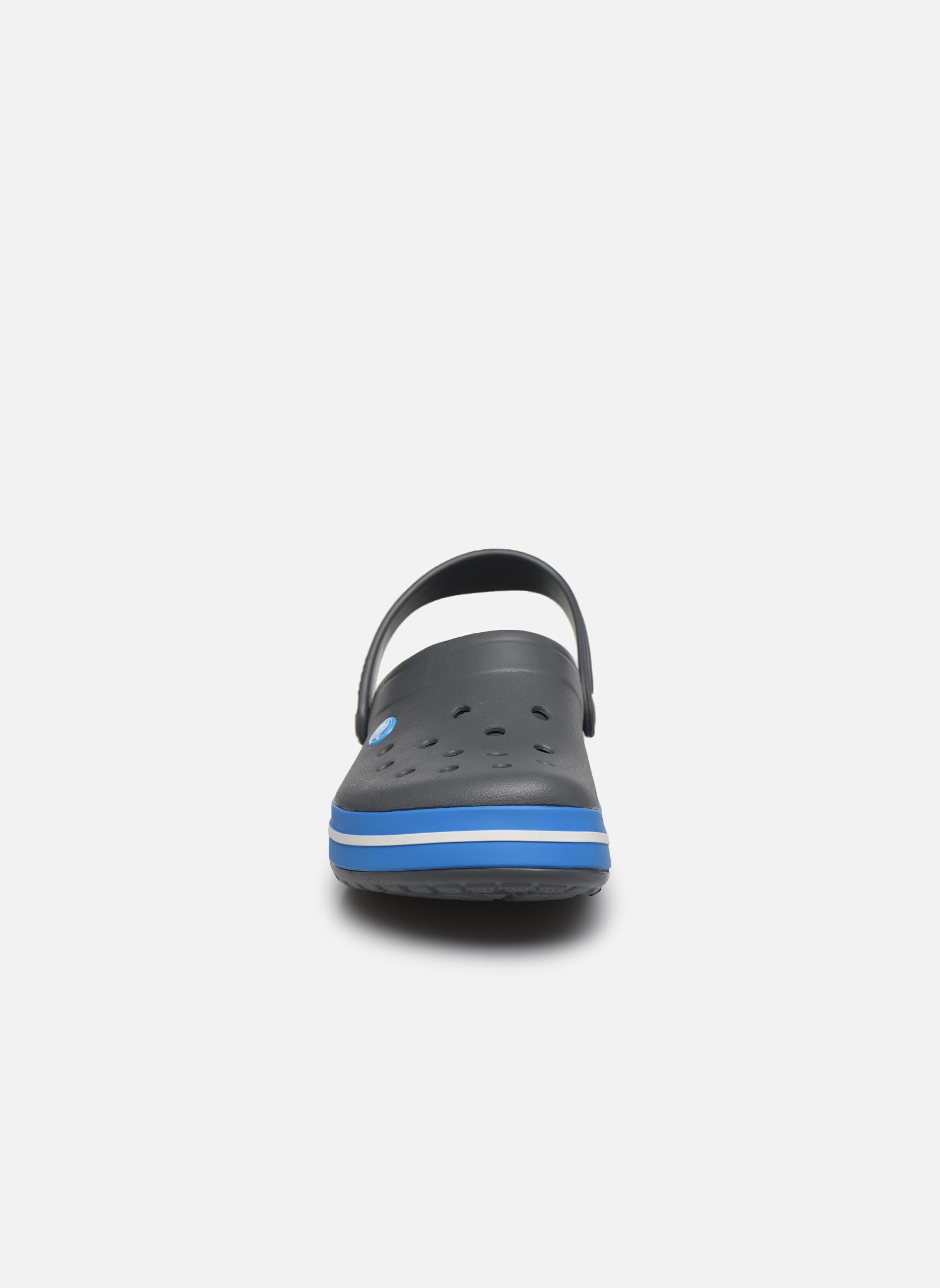 Sandales et nu-pieds Crocs Crocband M Gris vue portées chaussures