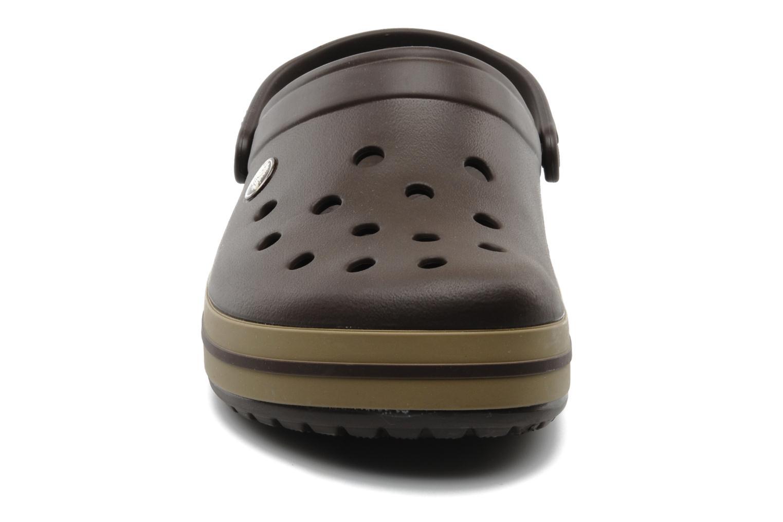 Sandalias Crocs Crocband M Marrón vista del modelo
