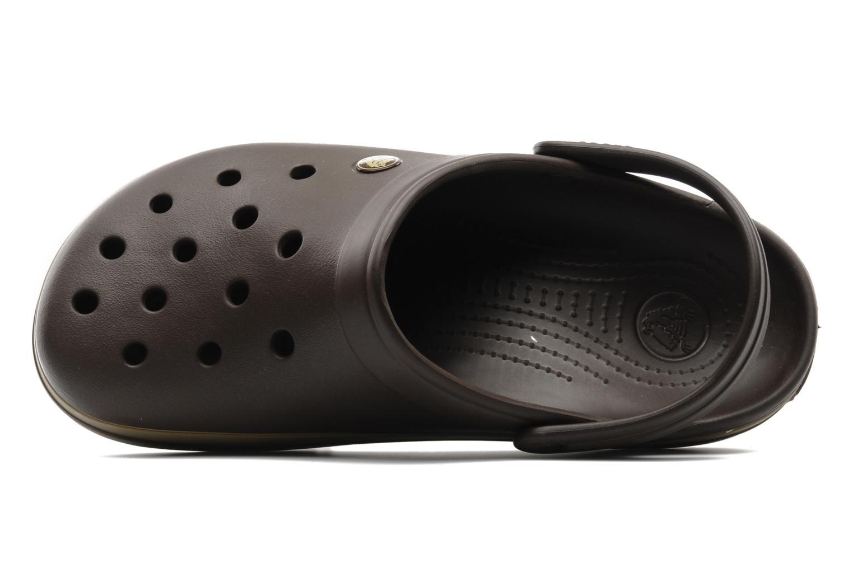 Sandalias Crocs Crocband M Marrón vista lateral izquierda