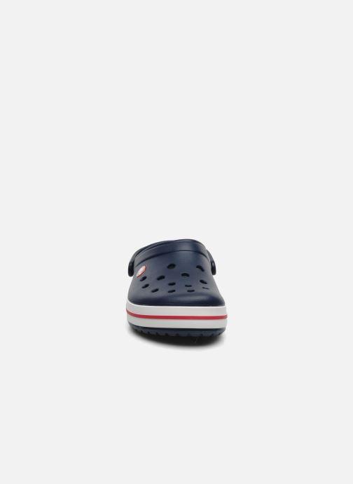 Zoccoli Crocs Crocband W Azzurro modello indossato