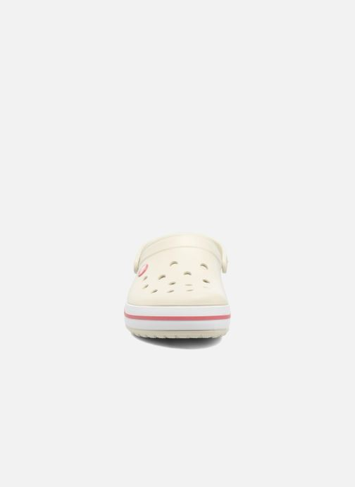 Clogs & Pantoletten Crocs Crocband W beige schuhe getragen