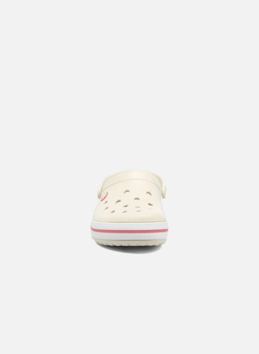 Mules et sabots Crocs Crocband W Beige vue portées chaussures
