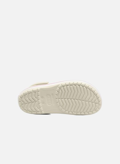 Clogs & Pantoletten Crocs Crocband W beige ansicht von oben