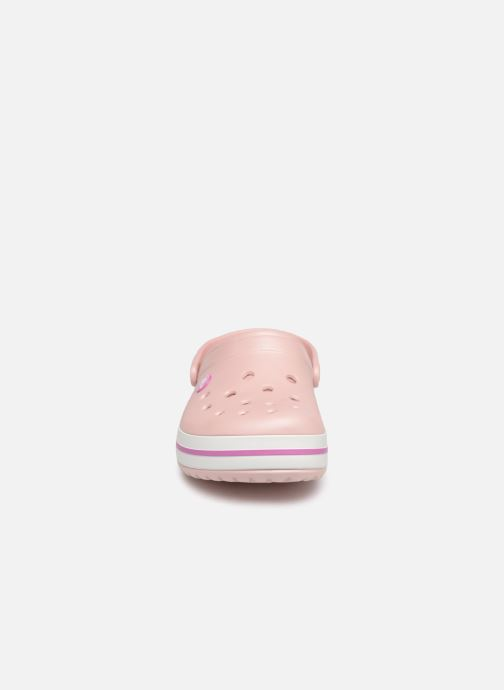Clogs & Pantoletten Crocs Crocband W rosa schuhe getragen