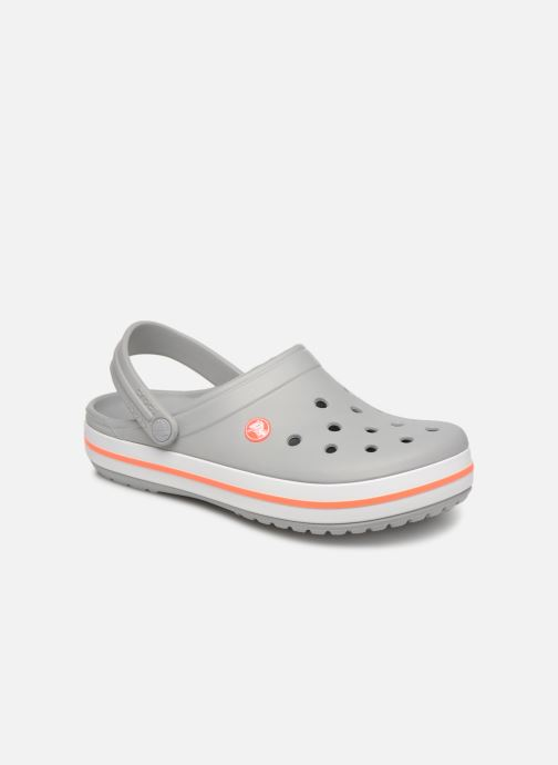 Clogs & Pantoletten Crocs Crocband W grau detaillierte ansicht/modell