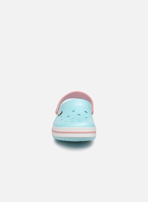 Mules et sabots Crocs Crocband W Bleu vue portées chaussures
