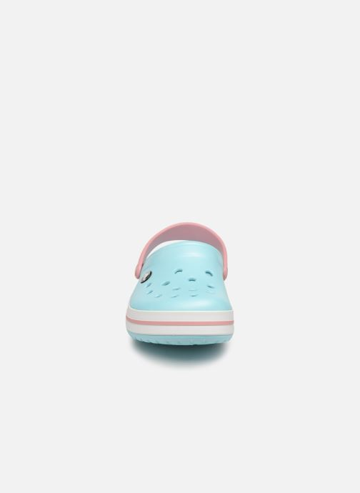 Zuecos Crocs Crocband W Azul vista del modelo