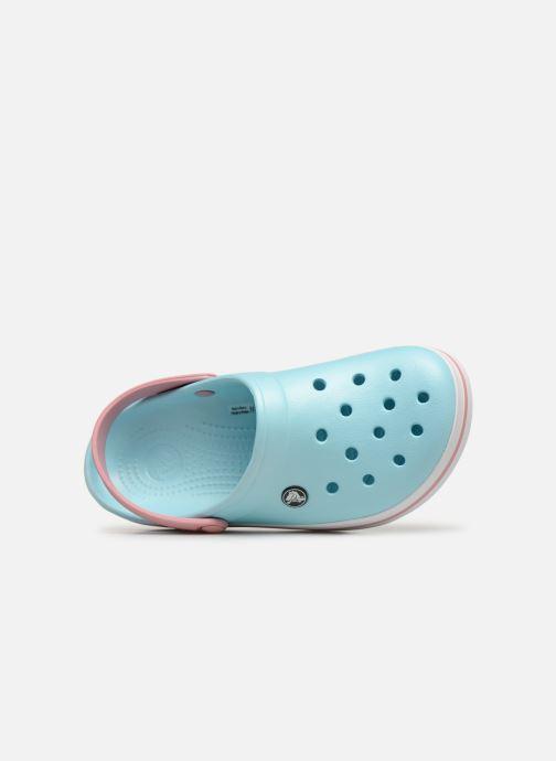 Zuecos Crocs Crocband W Azul vista lateral izquierda