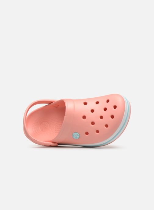 Mules & clogs Crocs Crocband W Orange view from the left
