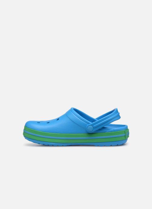 Clogs og træsko Crocs Crocband W Blå se forfra
