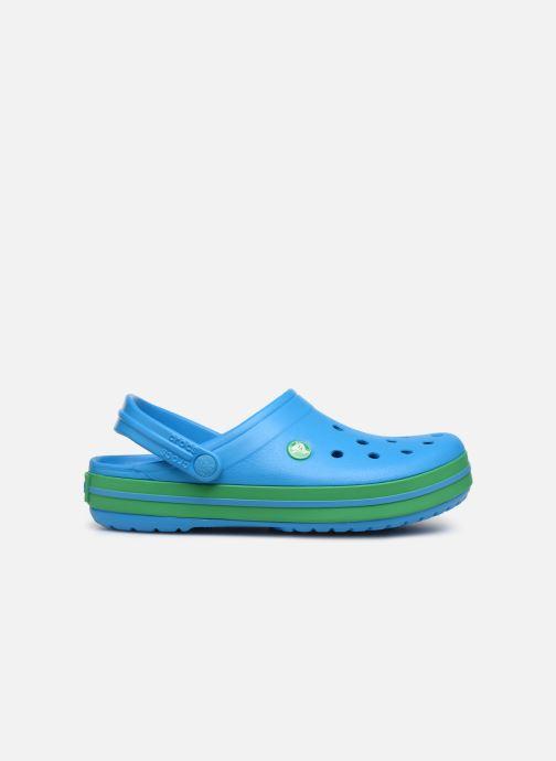 Clogs og træsko Crocs Crocband W Blå se bagfra