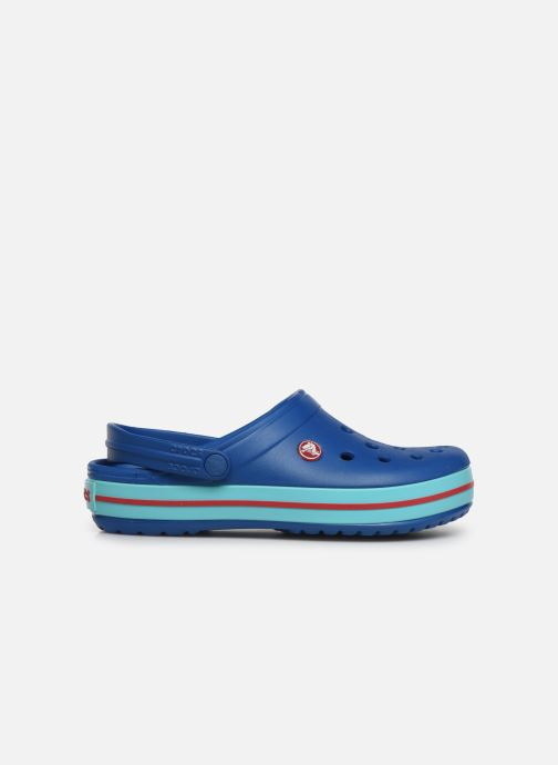 Clogs & Pantoletten Crocs Crocband W blau ansicht von hinten
