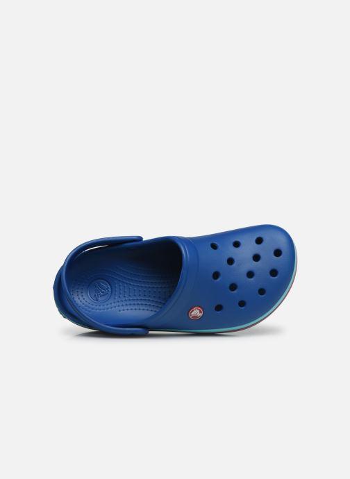 Mules et sabots Crocs Crocband W Bleu vue gauche