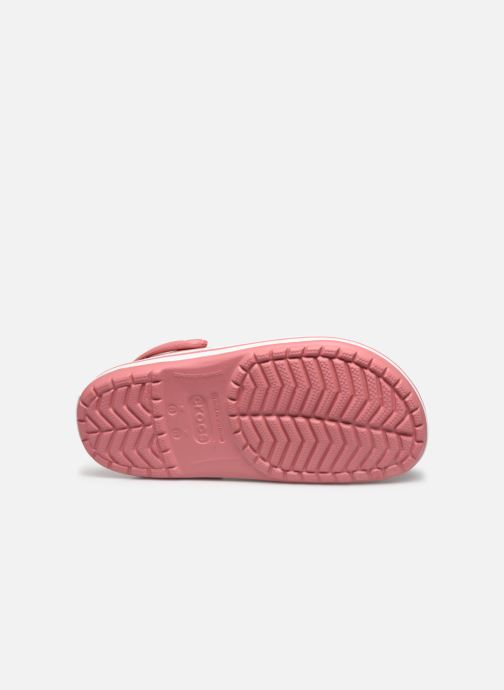 Clogs & Pantoletten Crocs Crocband W rosa ansicht von oben