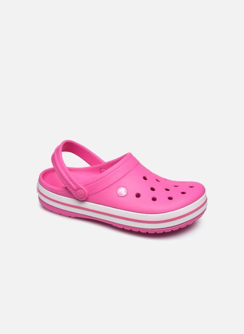 Clogs & Pantoletten Crocs Crocband W rosa detaillierte ansicht/modell