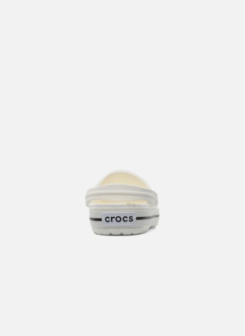 Zoccoli Crocs Crocband W Bianco immagine destra