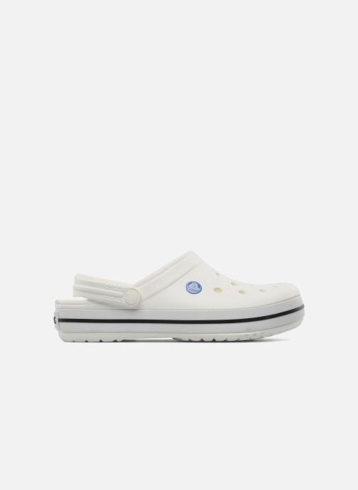 Clogs & Pantoletten Crocs Crocband W weiß ansicht von hinten