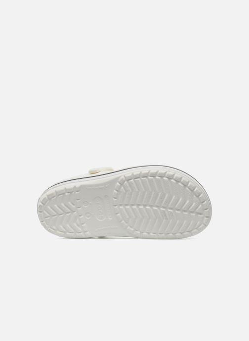 Zuecos Crocs Crocband W Blanco vista de arriba