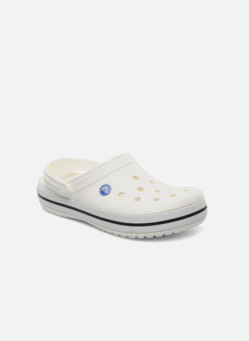 Zuecos Crocs Crocband W Blanco vista de detalle / par