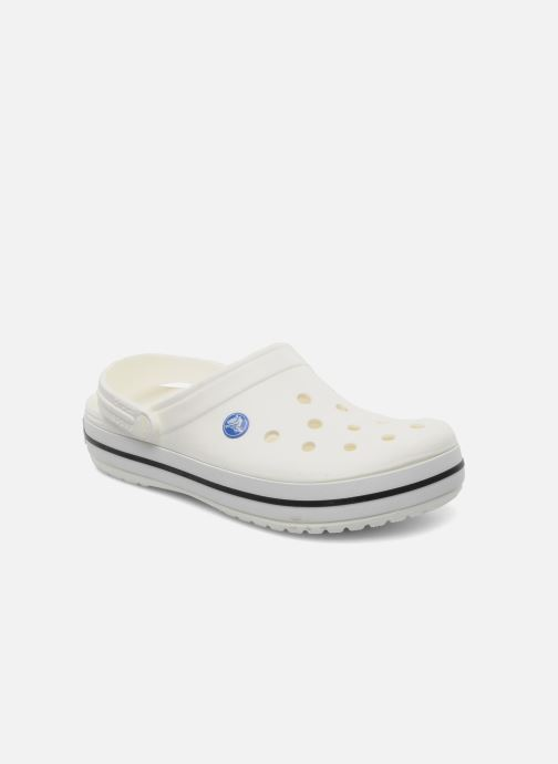 Clogs & Pantoletten Crocs Crocband W weiß detaillierte ansicht/modell