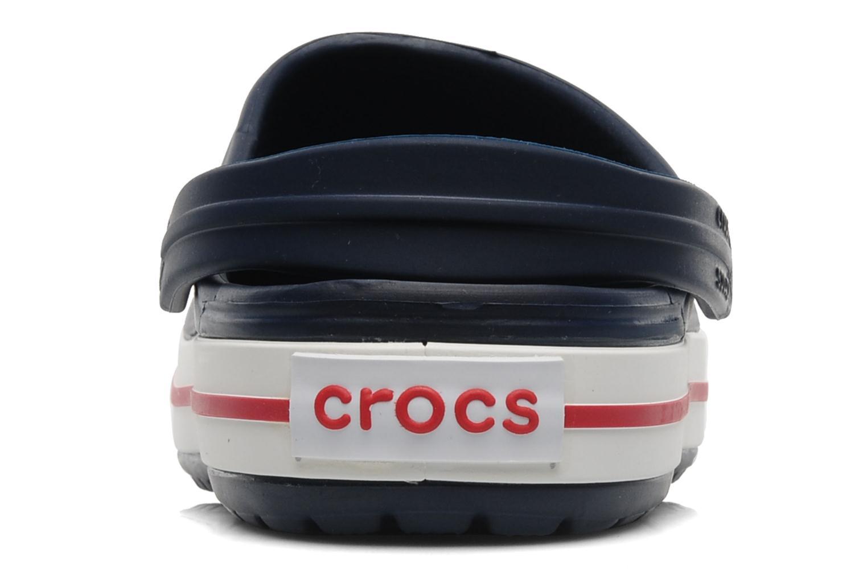 Mules et sabots Crocs Crocband W Bleu vue droite