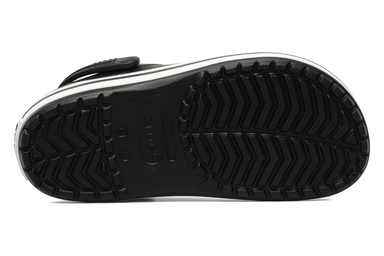 Zuecos Crocs Crocband W Negro vista de arriba