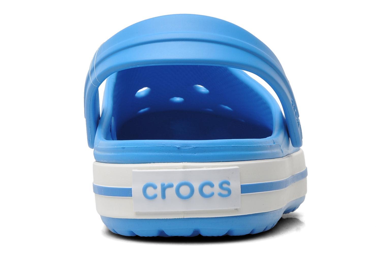 Zuecos Crocs Crocband W Azul vista lateral derecha
