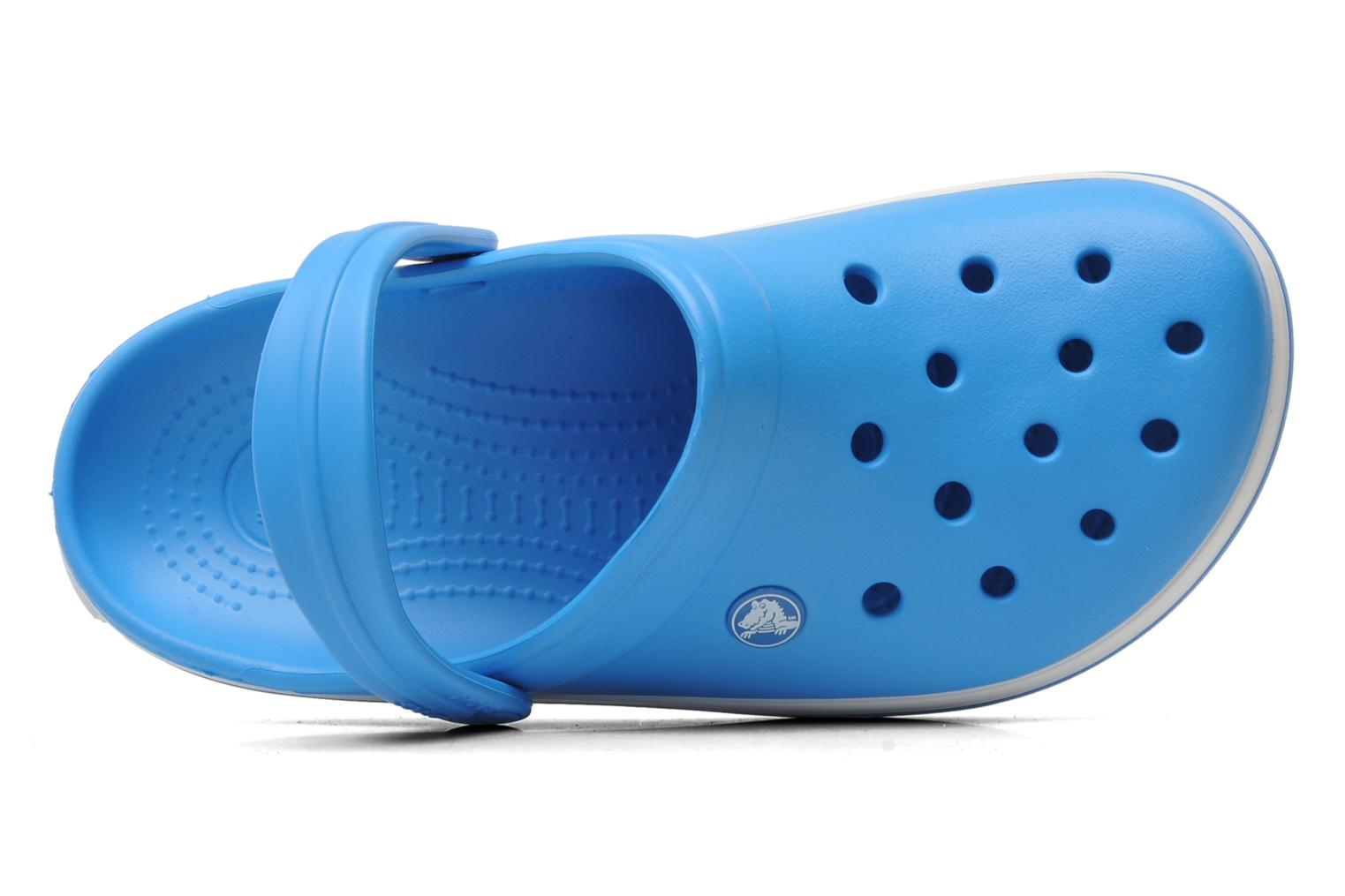 Mules & clogs Crocs Crocband W Blue view from the left