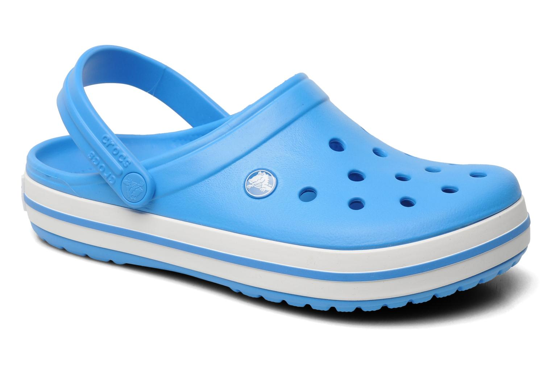 Mules & clogs Crocs Crocband W Blue detailed view/ Pair view