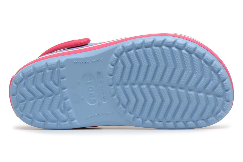 Zuecos Crocs Crocband W Azul vista de arriba