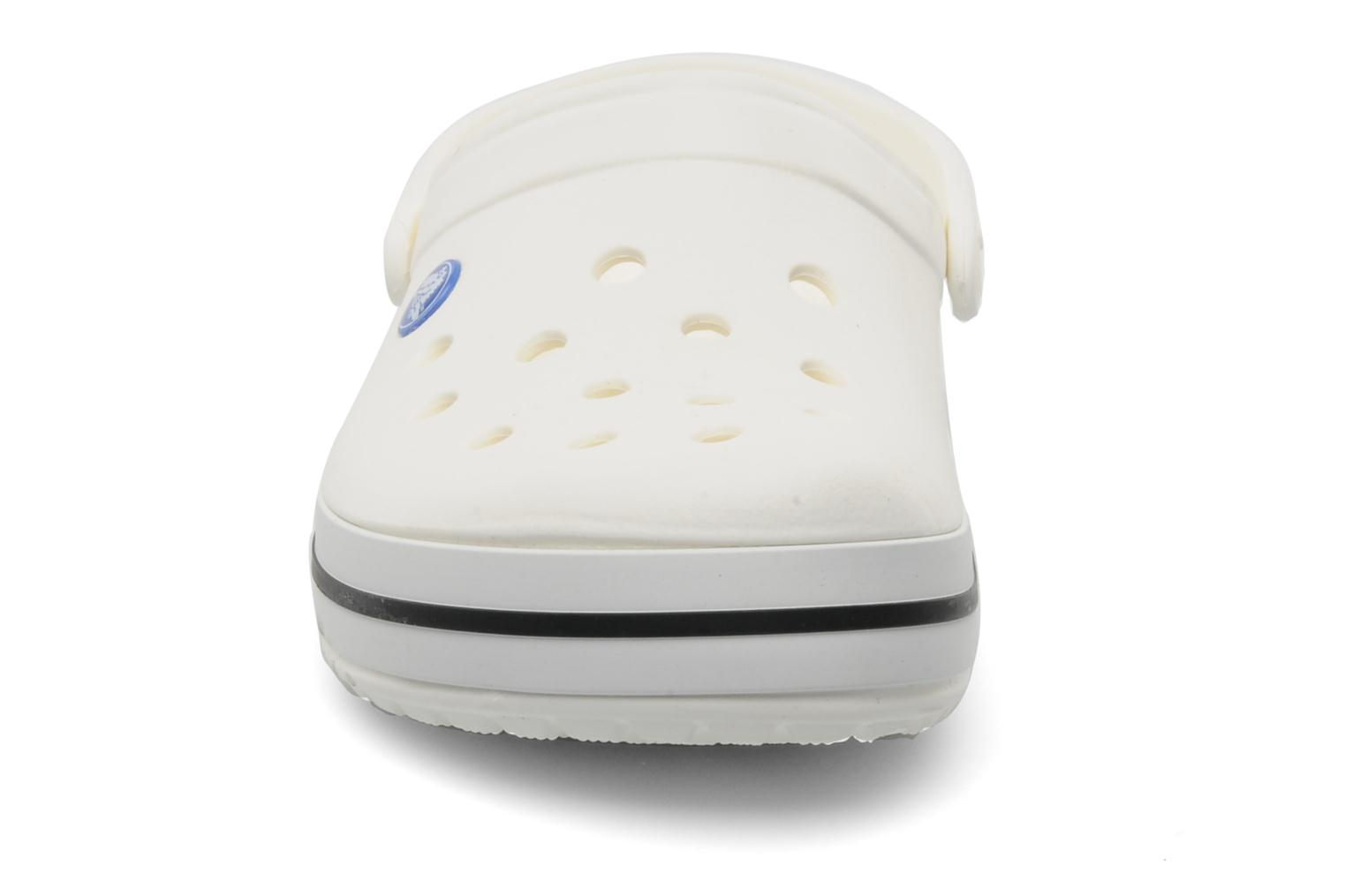 Mules & clogs Crocs Crocband W White model view