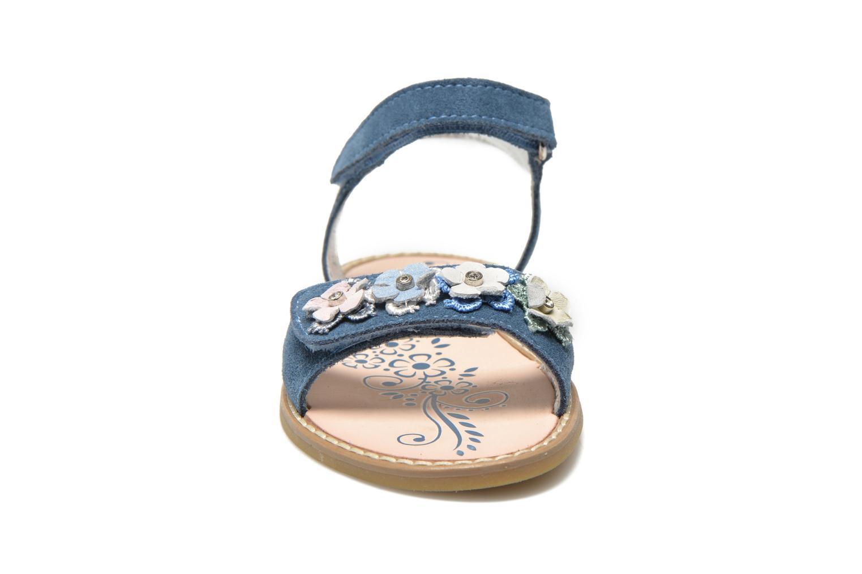 Sandales et nu-pieds Primigi Violetta Bleu vue portées chaussures