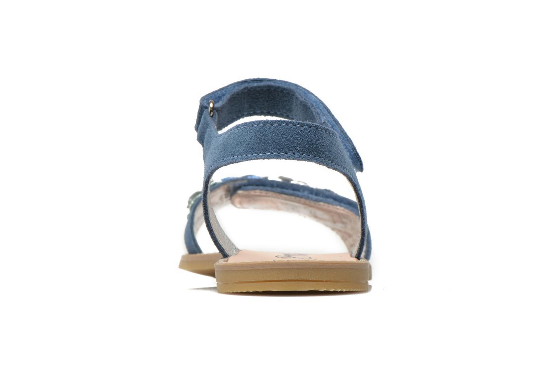Sandales et nu-pieds Primigi Violetta Bleu vue droite