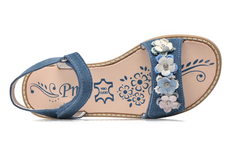 Sandales et nu-pieds Primigi Violetta Bleu vue gauche