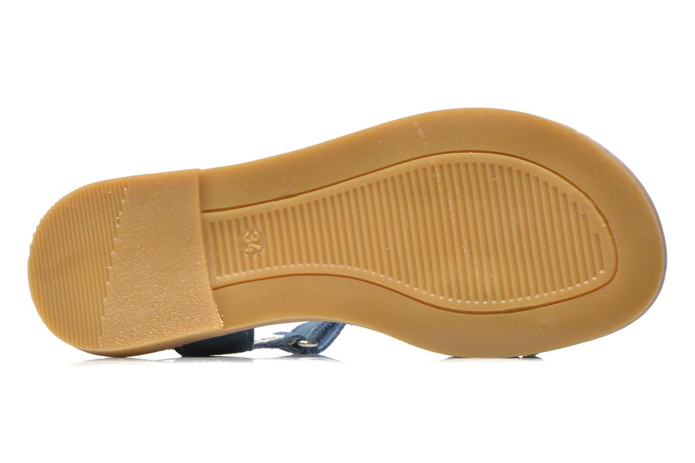 Sandales et nu-pieds Primigi Violetta Bleu vue haut