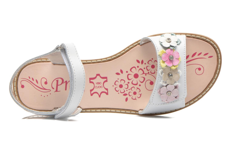 Sandales et nu-pieds Primigi Violetta Blanc vue gauche