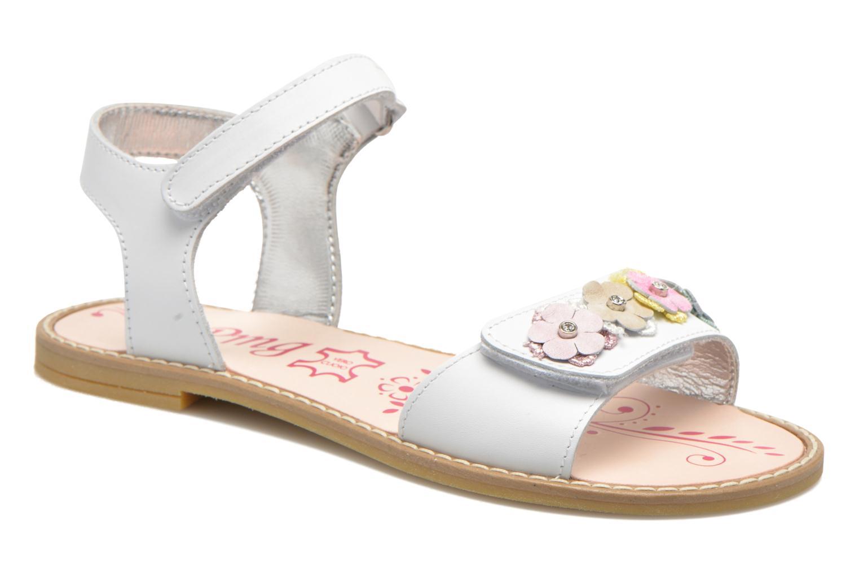 Sandales et nu-pieds Primigi Violetta Blanc vue détail/paire