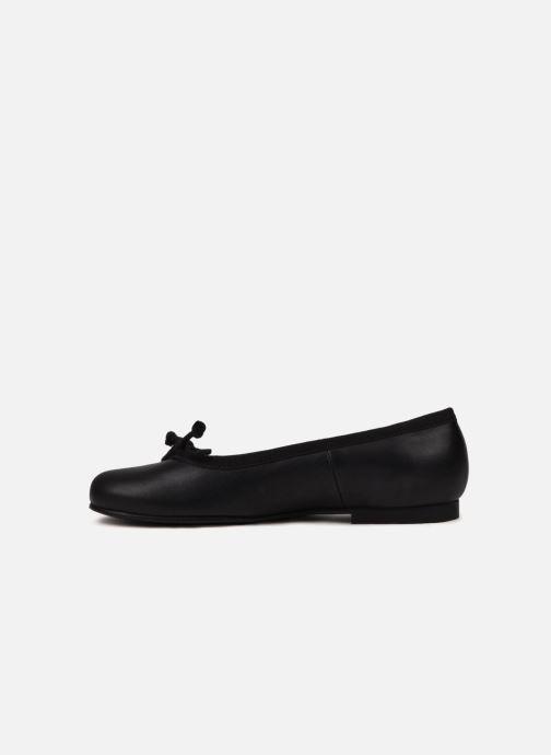 Ballerines Start Rite Francesca Noir vue portées chaussures
