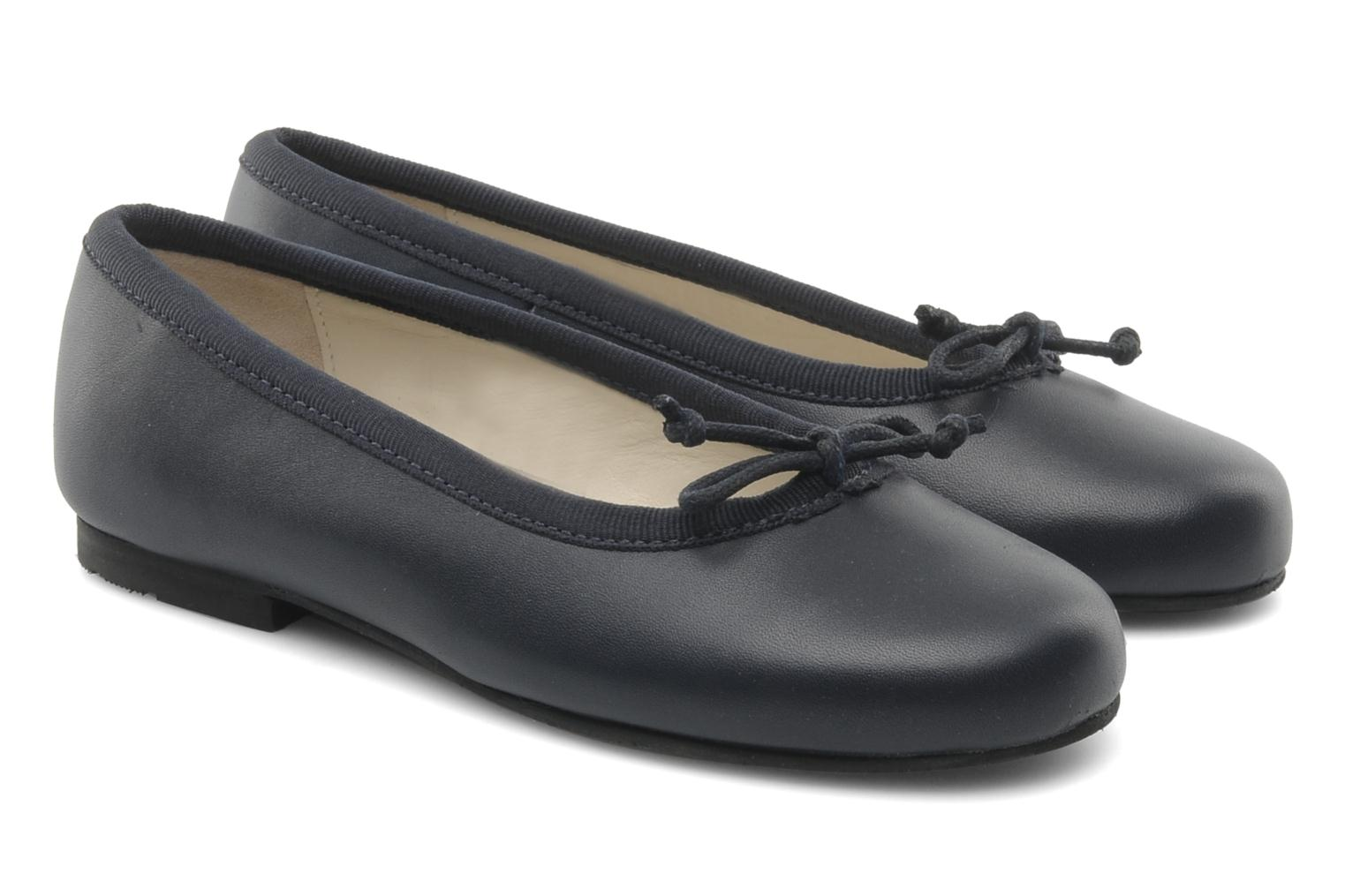 Ballet pumps Start Rite Francesca Blue 3/4 view