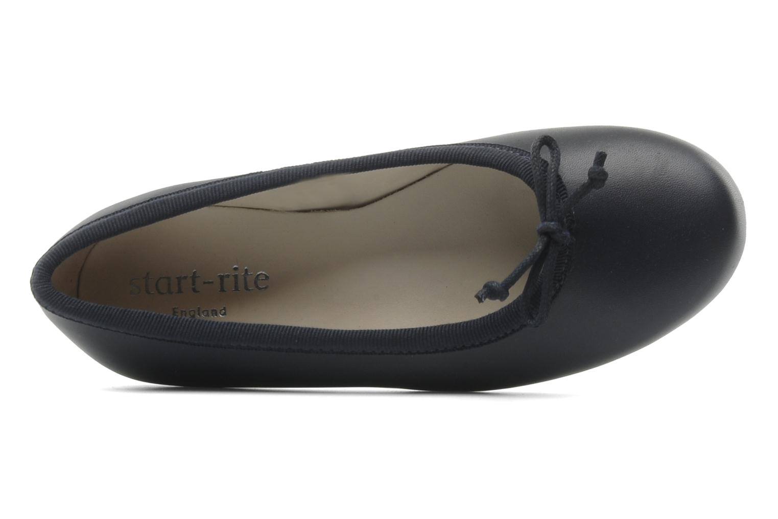 Ballet pumps Start Rite Francesca Blue view from the left