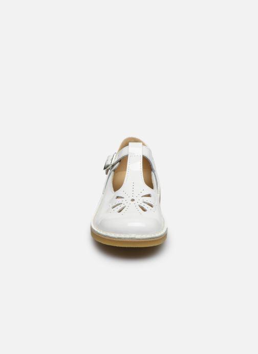 Ballerines Start Rite Lottie Blanc vue portées chaussures