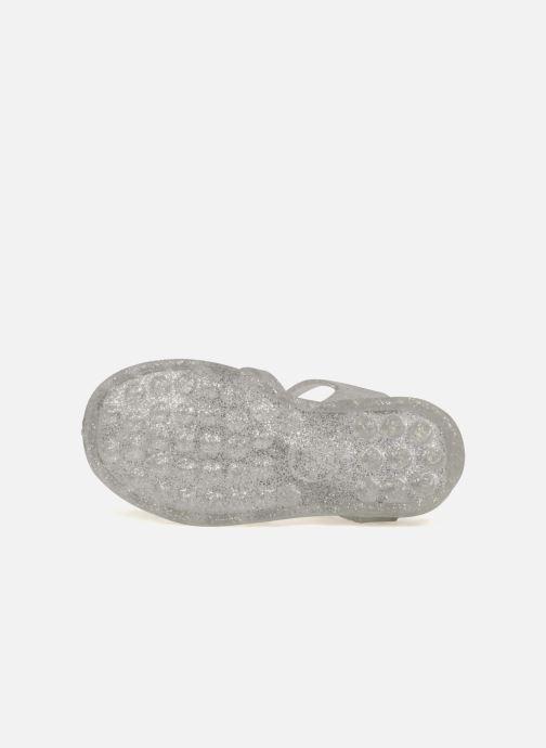 Zapatillas de deporte Méduse Sun 201 Plateado vista de arriba