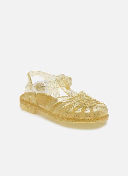 Chaussures de sport Méduse Sun 201 Or et bronze vue détail/paire