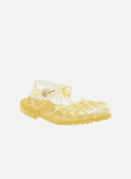 Sport shoes Méduse Sun 201 Yellow detailed view/ Pair view