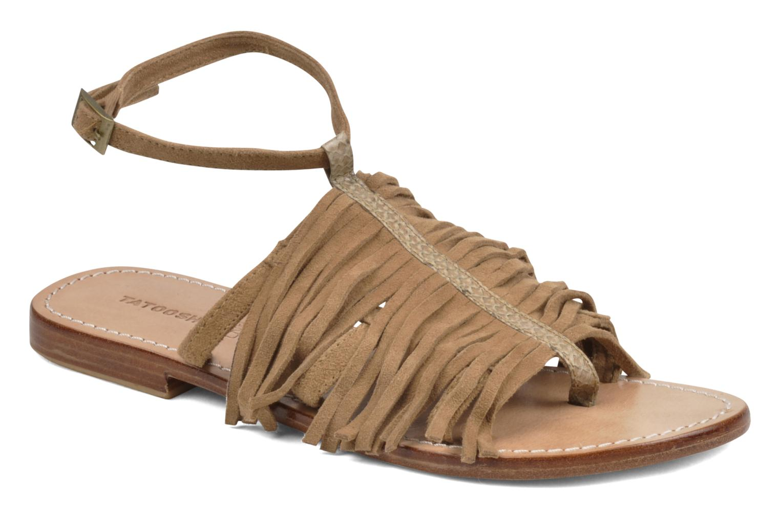 Sandals Tatoosh Ava Beige detailed view/ Pair view