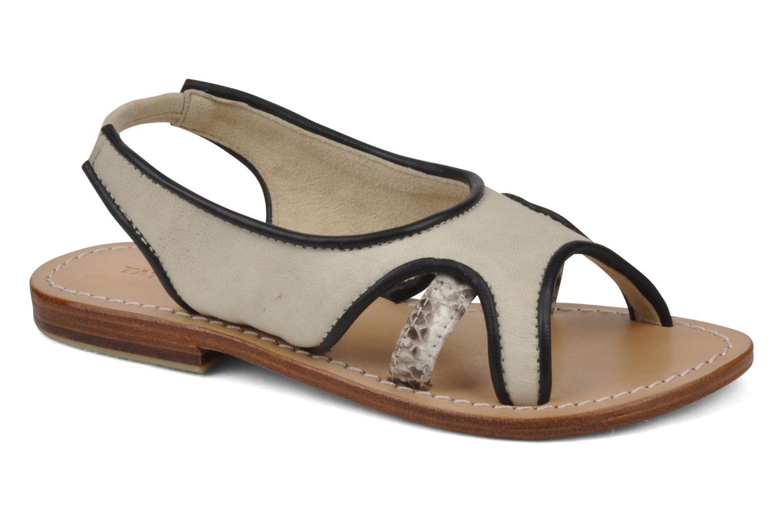 Sandales et nu-pieds Tatoosh Liza Kids Noir vue détail/paire