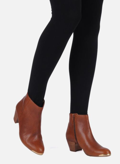 Ankle boots Jonak Doddy Brown view from underneath / model view