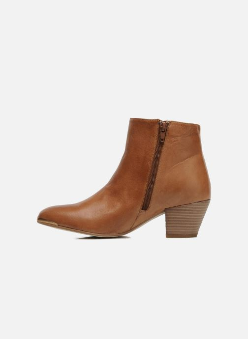 Ankle boots Jonak Doddy Brown front view