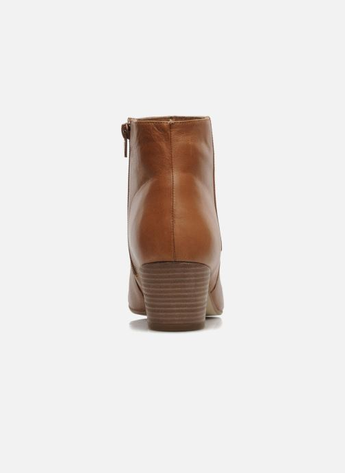 Ankle boots Jonak Doddy Brown view from the right
